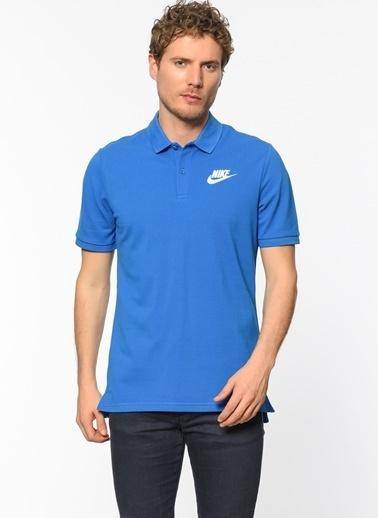 Nike Polo Yaka Tişört Mavi